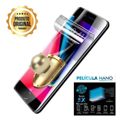 Imagem 1 de 5 de Pelicula iPhone SE 2020 4.7  Nano Gel 7 Camadas Blindada