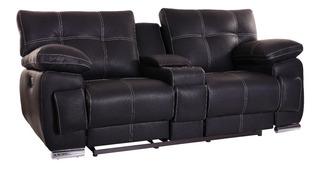 Love Seat Con Reclinables Salas Modernas Minimalistas Retro