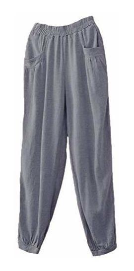 Pantalones En Lino Para Mujer Mercadolibre Com Co