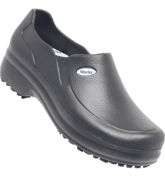 Sapato Cozinha Industrial Com Ca Soft Cano
