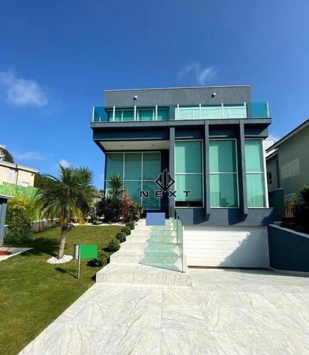 Casa Com 3 Suítes À Venda, 420 M² No Residencial Tamboré 11 Em Alphaville - Santana De Parnaíba/sp - Ca0712