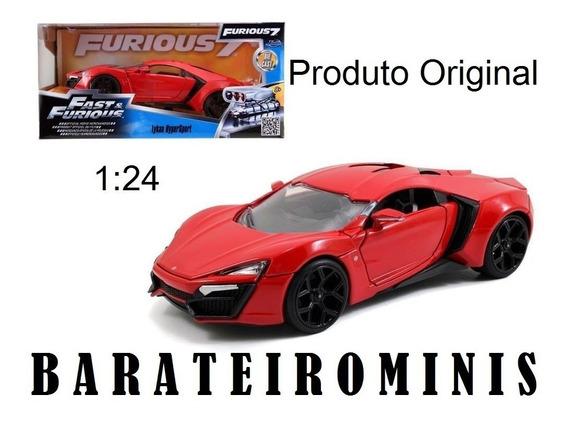 1:24 Lykan Hypersport Velozes Fast & Furious Barateirominis