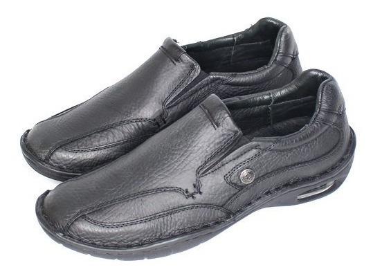 Zapato Elastizado Super Comfort Base Burbuja 100% Cuero