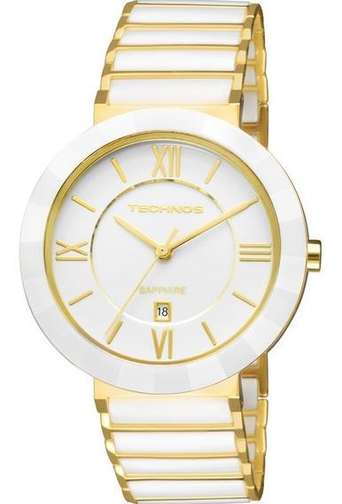 Relógio Technos Feminino Elegance Ceramic Safira 2015ce/4b