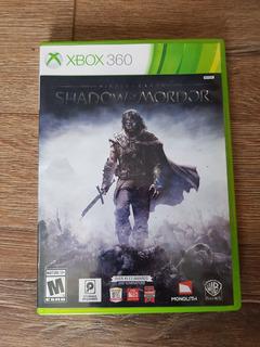 Lotr: Shadow Of Mordor Xbox 360