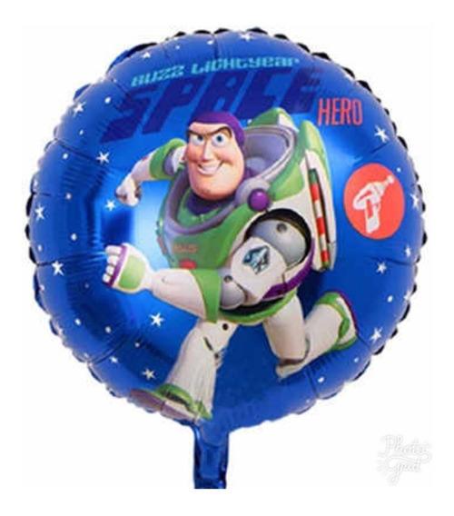 Toy Story Globo Metalico Buzz Light Year 10 Piezas