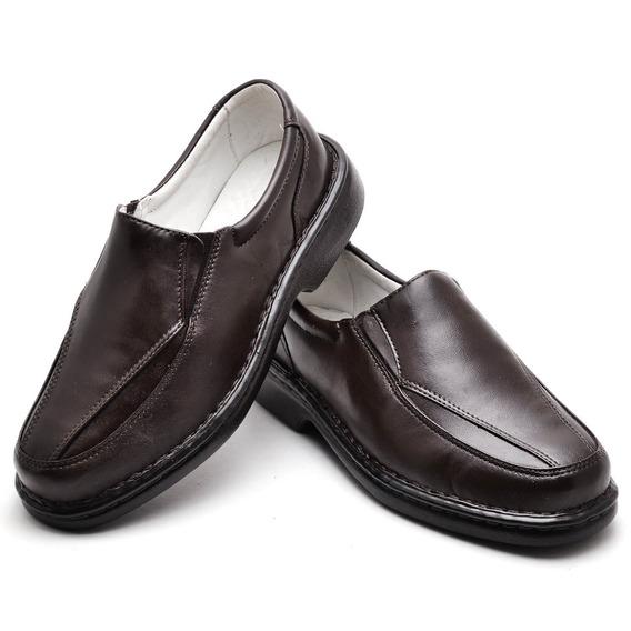 Sapato Masculino Antistress 100% Couro