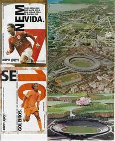 5 Cartões Postais Com Fotos De Estádios De Futebol Jogador