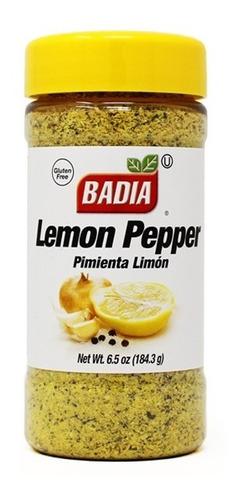 Pimienta Limon X 184 Gr Badia - Especias Premium Sin Tacc