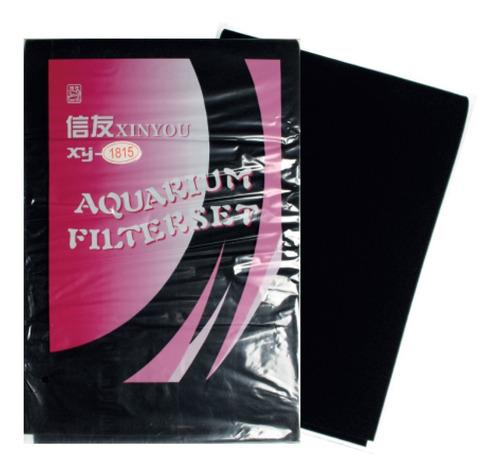 Espuma Acuario Filtro Bio Mecánico Poliuretano Negra 90x30x2