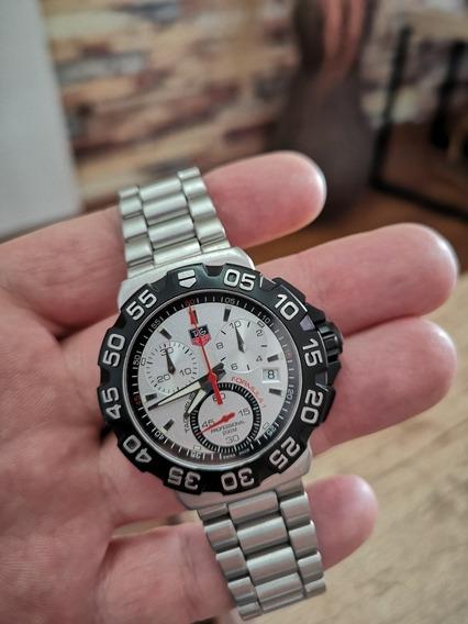 Relógio Tag Heuer Formula 1 Cah1111 Silver Perfeito Estado