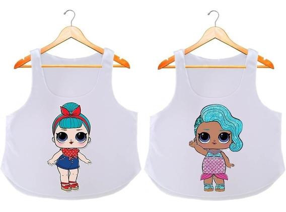 2 Lol Surprise Blusas A La Moda Sublimadas Para Niñas, L.o.l