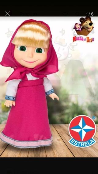 Boneca Masha Que Fala -estrela