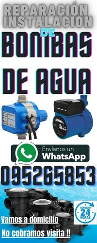 Instalación Reparacion Service De Bombas De Agua Sanitaria !