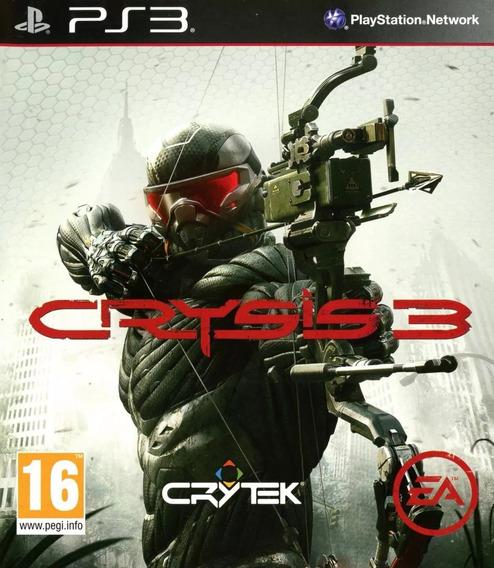 Jogo Crysis 3 Ps3 Lacrado Midia Fisica Original