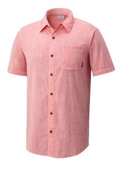 Camisa Columbia M/c Under Exposure Yd Short Sleeve Original