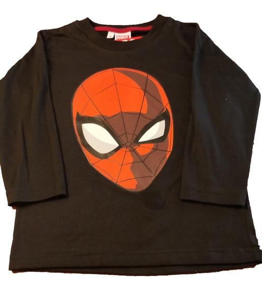 Camiseta Remera Algodon Marvel Oficial Spiderman Modelo 2020