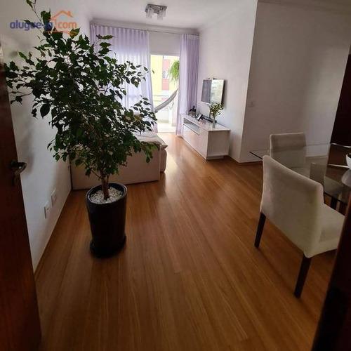 Apartamento Com 2 Dormitórios À Venda, 65 M² Por R$ 350.000 - Parque Industrial - São José Dos Campos/sp - Ap12561