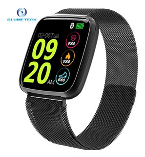 Smartwatch Relógio Inteligente S8 Pulseira Aço Milanese