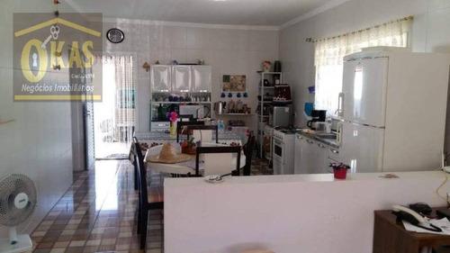 Imagem 1 de 5 de Chácara Com 2 Dormitórios À Venda,  Por R$ 470.000 - Ch0043