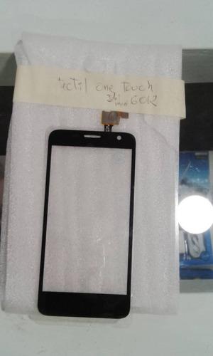 Mica Tactil Alcatel One Touch Idol Mini 6012 Negra Nueva