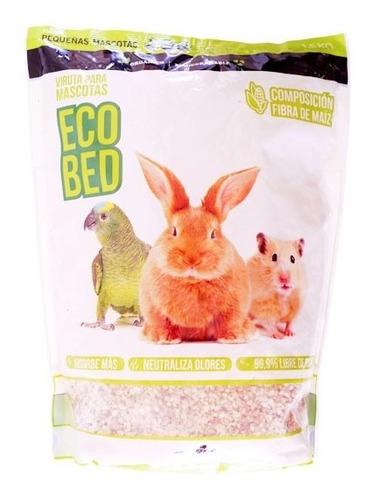 Viruta Sanitaria Ecobed 1,5kg Roedores Pajaros Biodegradable