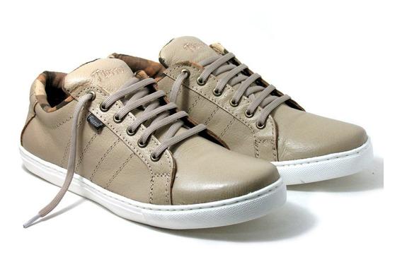 Zapatillas De Cuero Hombre Fierros Art. 09 - Talle 46