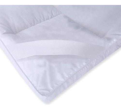 Cubre Colchon Sommier Pillow Top Desmontable 190x140cm