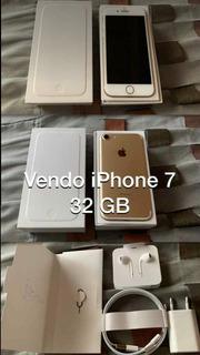 Vendo iPhone 7 32gb Con Sus Respectivos Accesorios