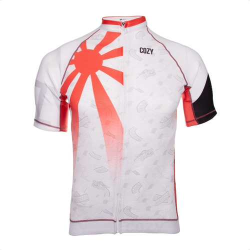 Imagen 1 de 5 de Remera Cozy Sport Premium Japon Uv50 Hombre Ciclismo