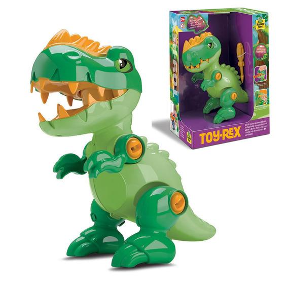 Dinossauro De Brinquedo Dino Tiranossauro Rex Samba Toys