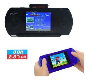 Vídeo Game Portátil Console Retro Jogos Inclusos 2 Cartuchos