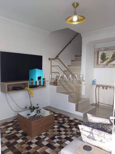 Imagem 1 de 15 de Casa Em Condomínio Com Dois Dormitórios No Horto Do Ypê - 389ll