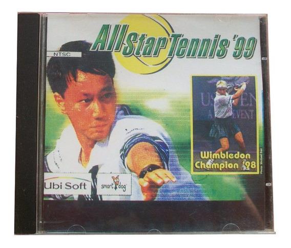 Cd | Plastation | All Star Tennis 99 - Raríssimo