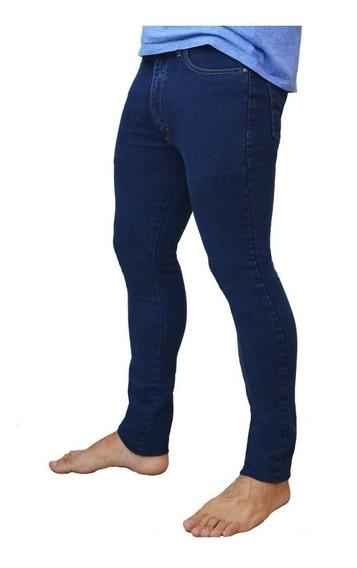 Pantalon Jean Chupin Rogers Azul Talles 38 A 52. Fabrica