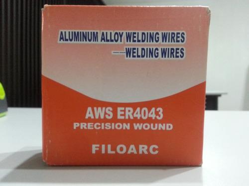 Aluminio Mig Soldar Norma 4043 Y 5356 Diam: 0,9 Y 1,2 Mm