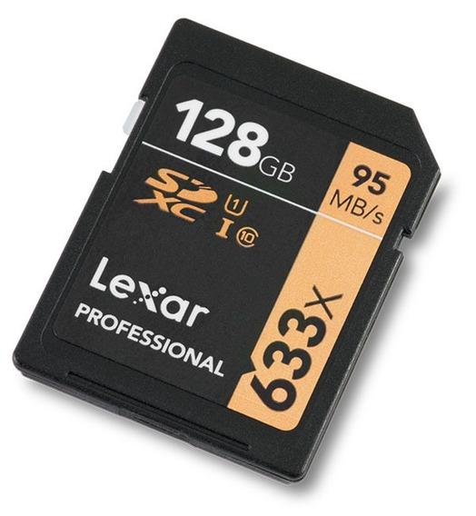 Cartao De Memoria Lexar 128 Gb Profissional Disponivel