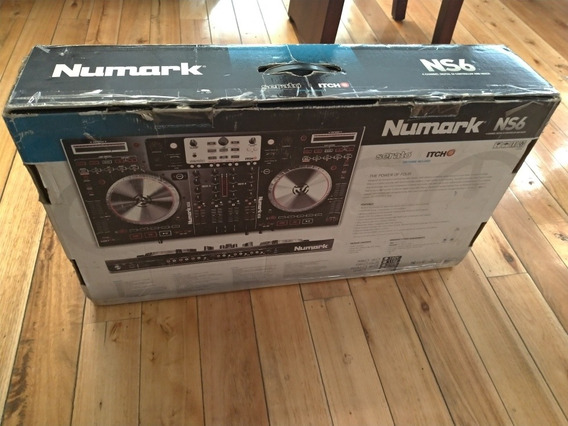 Numark Ns6 Controlador Dj En Caja