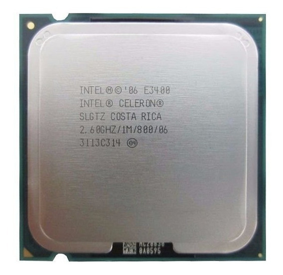 Processador Intel 775 Pentium Dual-core E3400 2.6ghz
