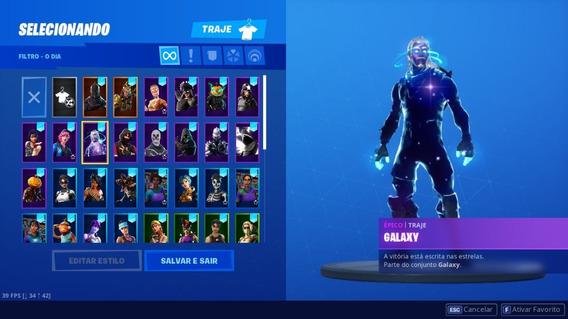 Comta Fortnite S2 (galaxy,ikonik,cavaleiro)