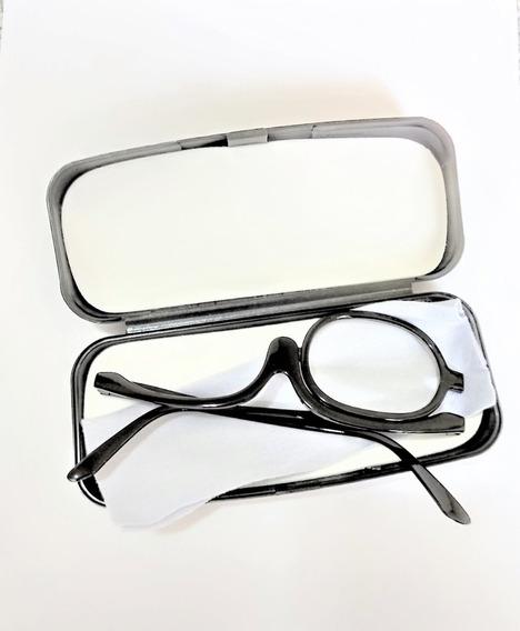Óculos Maquiagem (pr) Lente 2,5 Provisória + Estojo + Lenço