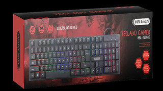 Mouse Gamer + Teclado Gamer Hbl-tech