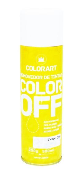4 Removedor De Tinta E Verniz Color Off Colorart 300ml
