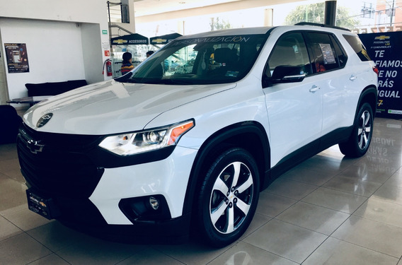 Chevrolet Traverse 2019 Con Accesorios 1 Año De Seg Gratis