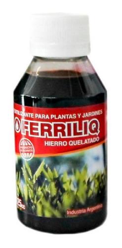 Imagen 1 de 1 de Fertilizante Ferriliq 125cc Hierro Quelatado
