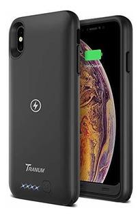 Funda Qi Para iPhone Xs Max Trianium 3500 Mah Cargador Recar