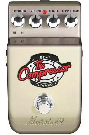 Pedal Guitarra Marshall Ed1 The Edward Compressor