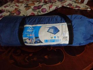 Carpa Azul 3 Personas Usada Buen Estado