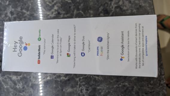 Assistente Pessoal Google Home Mini 2 Caixa De Som Wi-fi