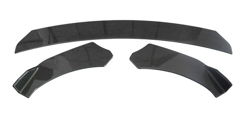 PPCP Spoiler del Labio Frontal Kit de la Cubierta de la Cubierta de la protecci/ón del difusor para BMW 3 Series F30 F35 2013-2019 F30 F35 Splitter de Parachoques ABS,Matte Black